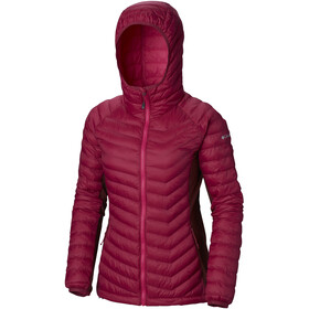 Columbia Powder Lite Light Veste à capuche Femme, wine berry